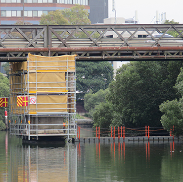 Gasworks Bridge Remediation
